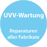 Button UVV-Wartung